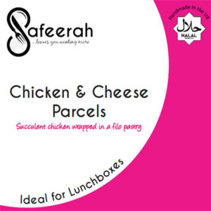 Safeerah Chicken and Cheese Parcels
